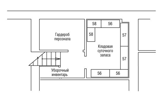Кафе находится на первом этаже